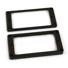 PC-0745-023 Flat black humbucker pickup rings