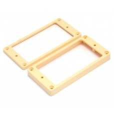 PC-0745-028 Humbucking Pickup Rings Non-slanted Cream