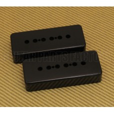 PC-0746-023 50mm Black Soapbar Guitar Pickup Covers