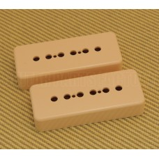 PC-0746-028 50mm Cream Soapbar Guitar Pickup Covers