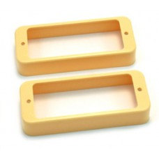 PC-0747-028 Cream pickup rings for les paul deluxe
