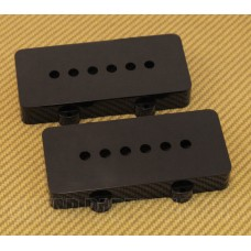 PC-6400-023 Black Pickup Covers for Jazzmaster Guitar