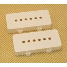 PC-6400-025 Pickup Cover Set for Fender Jazzmaster® Guitar White Nylon