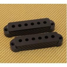 PC-6405-023 (2) Black Pickup Covers for Vintage/USA Fender Jaguar® Guitar