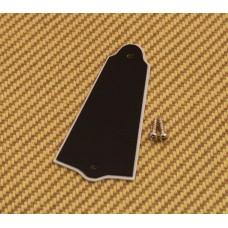 PG-0485-023 Black Universal Truss Rod Cover Guitar/Bass