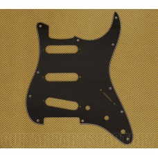 PG-0552-033 Black 3-ply 11-hole Pickguard Standard Fender Stratocaster
