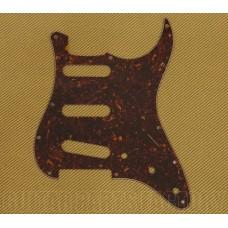 PG-0552-043 Brown Tortoise Pickguard for Standard 11-Hole Fender Strat