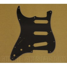 PG-0552-L33 Lefty 3-Ply Black Pickguard for Strat