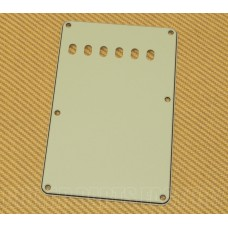 PG-0556-024 Mint 3-ply Back Plate/Tremolo Cover for Fender Stratocaster/Strat