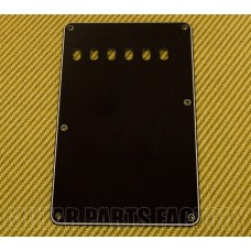PG-0556-033 3 ply Black Tremolo Spring Cover Back Plate