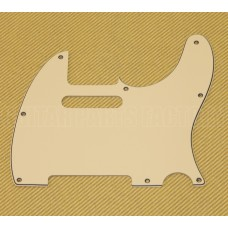 PG-0562-048 3-PLY Cream Pickguard for Tele