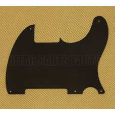 PG-0567-023 Black 1-ply No Hole Pickguard Vintage 5-hole Fender Esquire/Tele