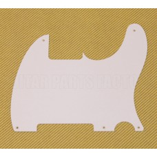 PG-0567-025 White Pickguard for Esquire® Telecaster Guitar No Pickup Hole