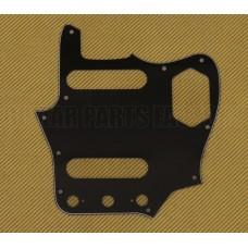 PG-0580-033 Black 3-ply Pickguard for Fender Japan MIJ Reissue Jaguar®