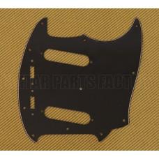 PG-0581-033 Black 3-ply Guitar Pickguard for Vintage USA Fender Mustang®
