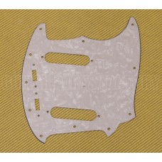 PG-0581-055 White Pearloid Pickguard for Vintage USA Fender Mustang®