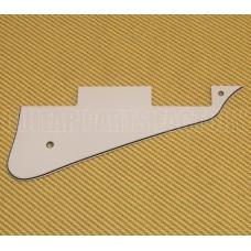 PG-0800-035 White 3-Ply Pickguard for Les Paul