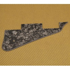 PG-0800-052 Dark Black Pearloid Pickguard for Les Paul