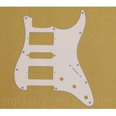 PG-0994-035 White 3-ply H/S/H Pickguard for Fender Stratocaster