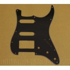 PG-0995-033 3-Ply Black S/S/H Pickguard For Standard 11-Hole Fender Strat