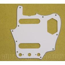 PG-8580-035 White 3-Ply Jaguar '60s Style Truss Cut Out Pickguard USA