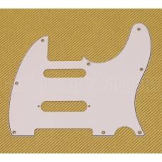 PG-9563-035 White S-Cut Nashville Pickguard for Telecaster®