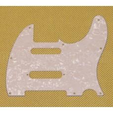 PG-9563-055 S-Cut White Pearloid Nashville Tele Pickguard for Fender Telecaster