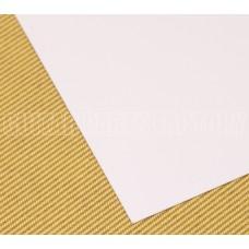 PGM-W1-THIN White 1-Ply Thin Pickguard Material
