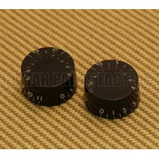 PK-0132-023 (2) Black 0-11 Speed Knobs