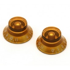PK-0142-032 (2) Gold 0-11 Bell Knobs