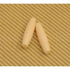 PK-0148-028 Cream Tremolo Tips Press Fit for USA Strat