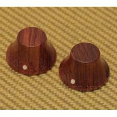 PK-3197-0B0 (2) Bubinga Wood Bell Knobs