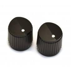 PK-3255-023 Black Bevel Top Knobs