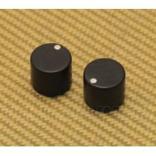PK-3282-000 (2) Ebony Wood Mini Knobs