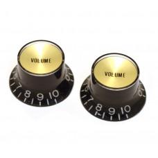 PK-3294-023 Reflector Volume Knobs Black/Gold