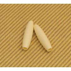 PK-DR006-03 Cream Tremolo Tips Press Fit Strat