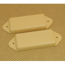 PN-DNH-C Cream No-Hole Closed P-90 Dog Ear Guitar Pickup Cover Set