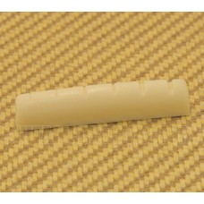PNUT-10204 Pre-slotted Cream Plastic Nut for Acoustic Guitar