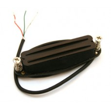 BLACK DUAL RAIL PICKUP FOR STRAT