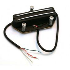 BLACK DUAL RAIL PICKUP FOR TELE