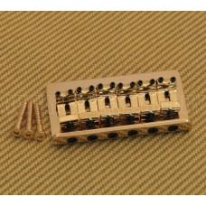 SB-0100-002 Gold Fixed Guitar Bridge for Hardtail Fender Stratocaster/Strat