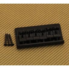 SB-0100-003 Black Fixed Guitar Bridge for Hardtail Fender Stratocaster/Strat