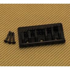SB-0190-003 Black Universal Top Load Hardtail Guitar Bridge
