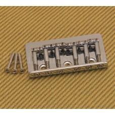 SB-0190-010 Chrome Universal Top Load Hardtail Guitar Bridge