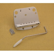 SB-0224-010 Chrome Tremolo Tailpiece for Mustang®