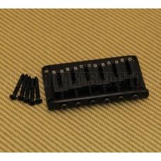 SB-5115-003 Gotoh Black Hardtail Guitar Bridge