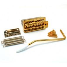 SB-5208-002 Gold Steel Block Tremolo Kit for USA Strat