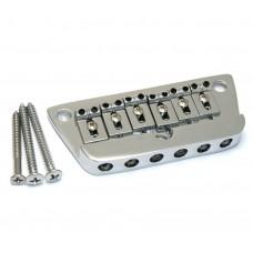 SB-5800-010 Chrome 6-saddle Adjustable Bridge for Danelectro U3 Guitar