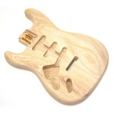 SBAO-L Left Handed Ash Replacement Body for Stratocaster