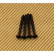 BLACK SHORT NECK SCREWS FOR IMPORT GUITARS